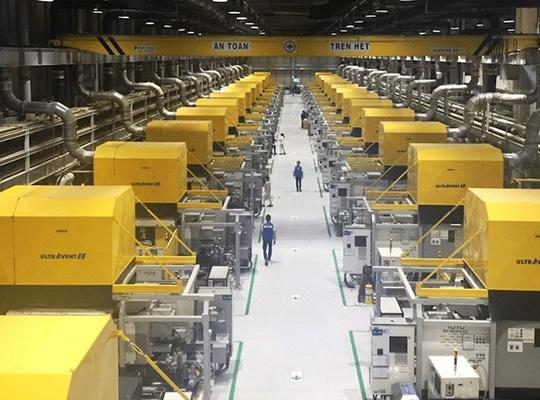Plus de 2.500 systèmes de filtre à air installés dans le monde entier.