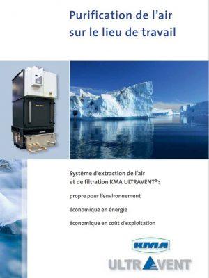 Air pur sur le lieu de travail grâce aux systèmes d'extraction et de filtration KMA ULTRAVENT