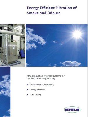 Séparation économe en énergie de la fumée et des odeurs dans l'industrie alimentaire