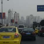 Gaz d'échappement en Chine