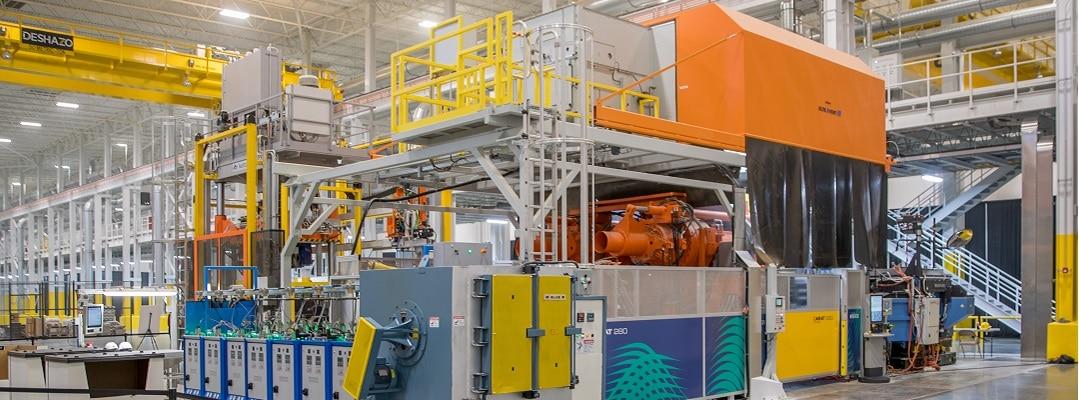 Nouvelle usine de GF Linamar aux États-Unis equipée avec le KMA ULTRAVENT©.