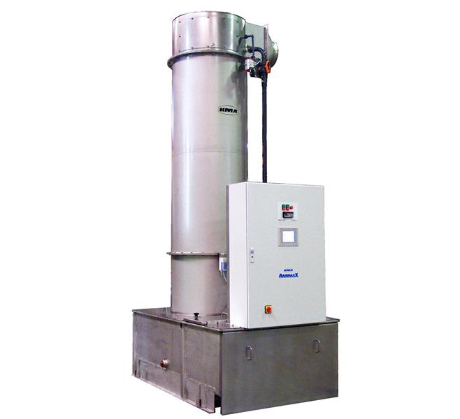 Laveur de gaz avec le système de filtration KMA AAIRMAXX®.