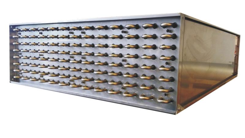L'échangeur de chaleur KMA permet de récupérer la chaleur de processus lors de la purification de l'air d'échappement.