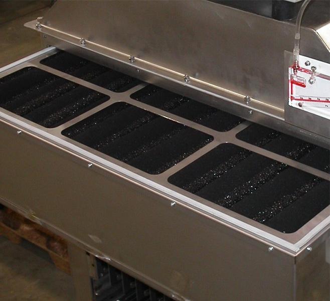 Filtre à charbon actif de KMA Umwelttechnik.