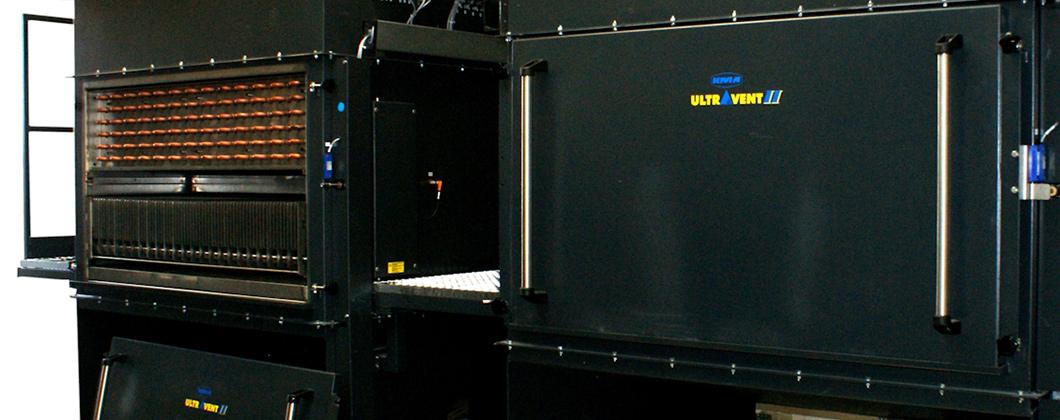 KMA système de filtration d'air vicié avec échangeur de chaleur