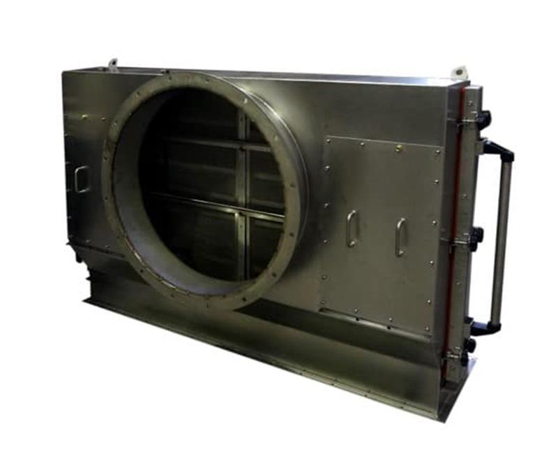 Le filtre à peluches est utilisé pour la préfiltration lors du traitement de tissus rugueux constitués de fibres grossièrement tissées.