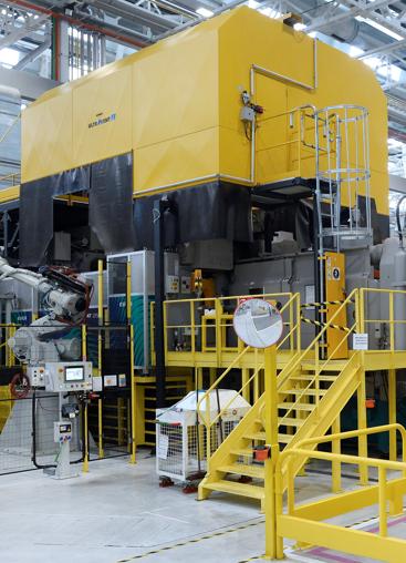 Le système KMA ULTRAVENT© en mode de recyclage dans une usine.