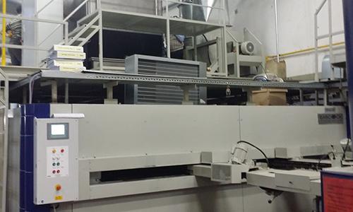 Rame textile de Kirayteks avec le système de filtration KMA ULTRAVENT® en Turquie.