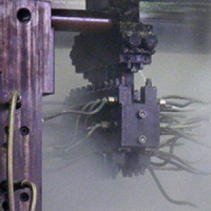 Machines de moulage sous pression émittent une grande quantité de l'air vicié.