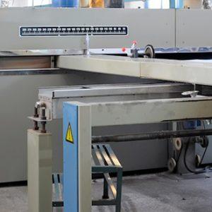 Système de filtration sur mesure au rame textile.
