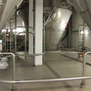 KMA propose des solutions d'évacuation d'air pour le séchage par pulvérisation