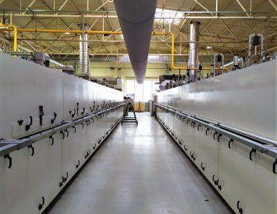 Nettoyage de l'air d'échappement et récupération de la chaleur sur les armatures de serrage